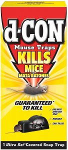 product box for D-Con Reusable Covered Mouse Snap Trap